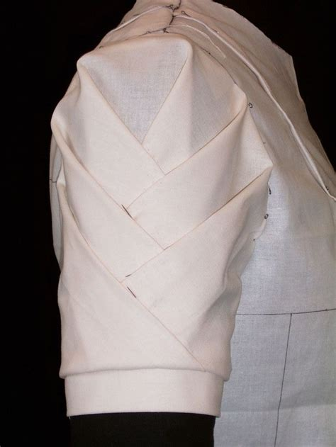 Draping On The Stand Origami Sleeve Detail Fashion