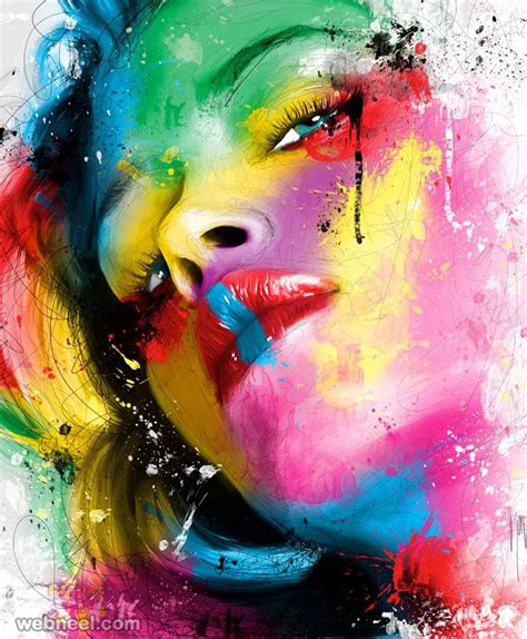 colorful painting 30 mind blowing and colorful paintings by