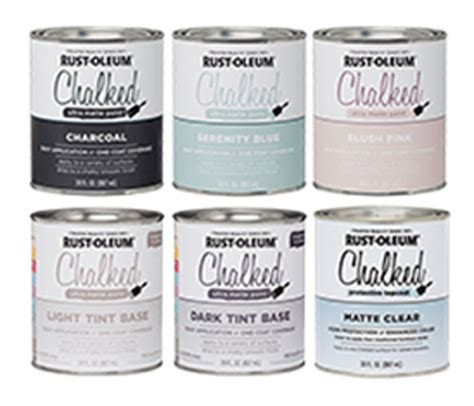 chalkboard paint rustoleum colors rust oleum s new chalked ultra matte painting pro times