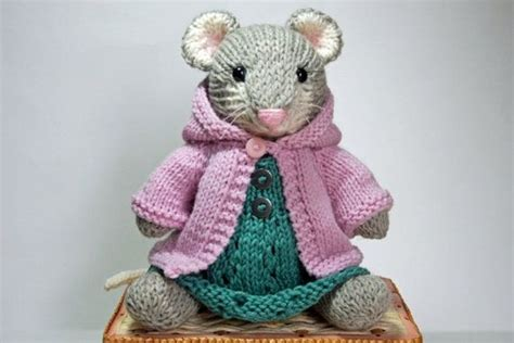 how to knit a mouse cat 1000 images about knitted mouse on knit