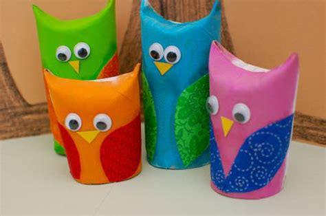 owl craft toilet paper roll 14 creative preschool activities for tip junkie