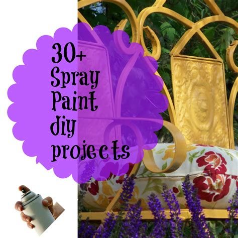 spray paint projects 30 transformations with spray paint debbiedoo s