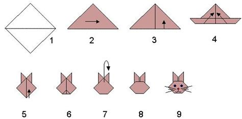 easy rabbit origami make an origami rabbit