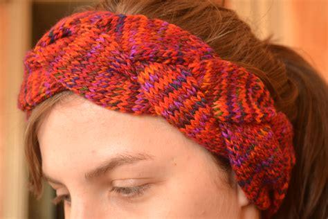 knit braid pattern braided knit headband patterns a knitting