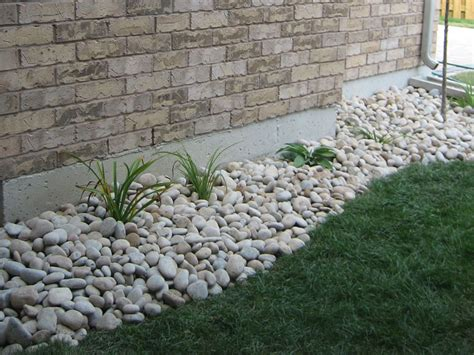 garden bed rocks landscaping landscaping ideas rock beds