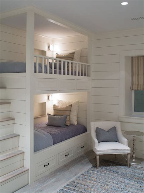 built in beds bunk beds with built in steps transitional boy s room