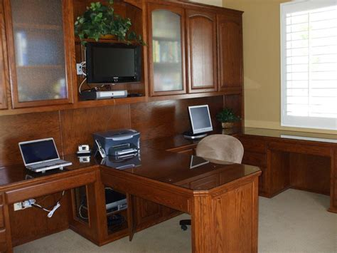furniture home office desks built in desk and home office woodwork creations