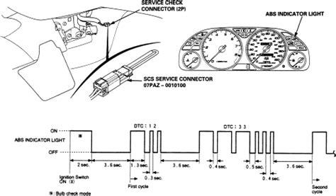 repair anti lock braking 1992 honda civic parking system repair guides anti lock brake system diagnostic trouble codes dtcs autozone com