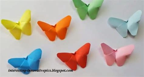 paper butterfly craft ideas diy colorful paper butterfly craft for or decorations