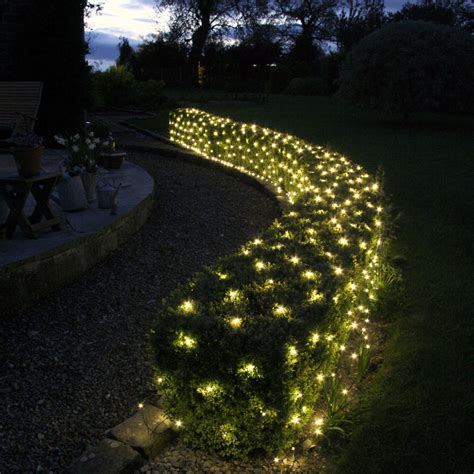 tree net lights 140 led warm white low voltage net light 2m x 2m