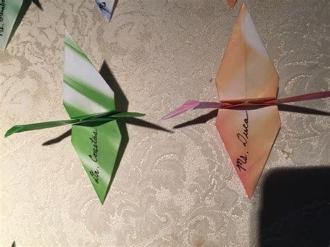 origami place card wedding origami place cards thedjservice albany ny