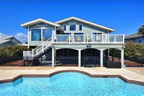 myrtle house rentals with pool oceanfront myrtle south carolina usa oceanfront 7