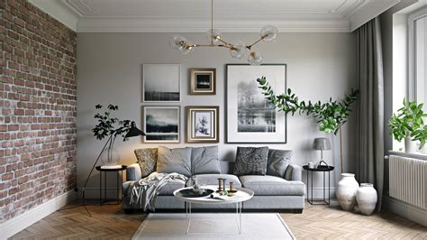 how to design a living room interior design render to present a living room design