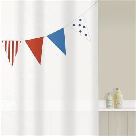 Dunelm Shower Curtains by Bunting Shower Curtain Dunelm Mill Shower Curtain