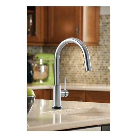 delta touch20 kitchen faucet 9159t ar dst single handle pull kitchen faucet with