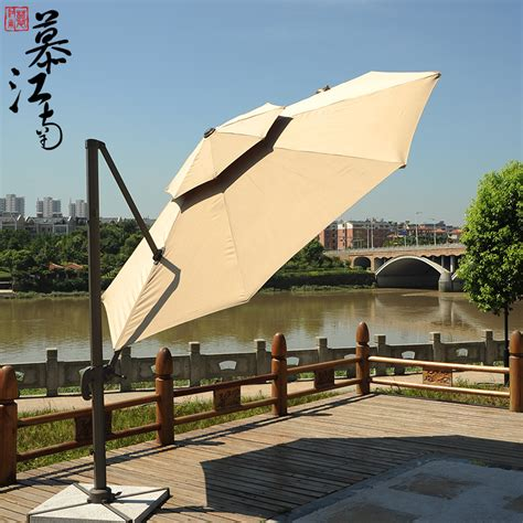 patio umbrella large outdoor patio furniture outdoor leisure umbrella rome