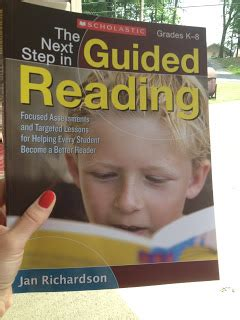 the next step forward in guided reading an assess decide guide framework for supporting every reader always an adventure in kindergarten 5 for friday school