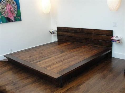 king bed platform frame 25 best ideas about diy bed frame on bed