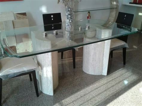 bases de marmol para mesas de comedor base para mesa de comedor en marmol travertino mod
