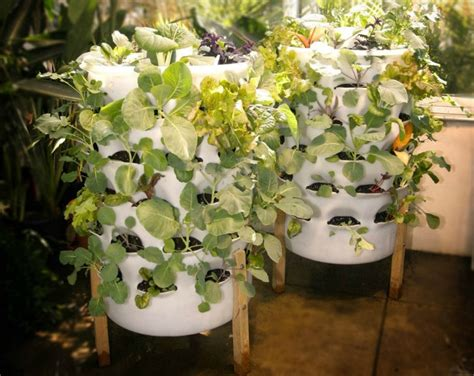 tower vegetable garden 6 stylish systems to keep your organic vegetable garden