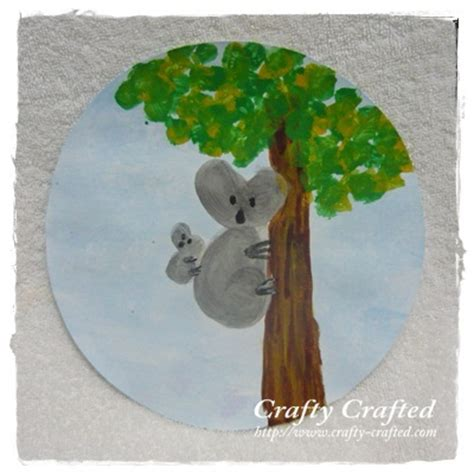 koala craft for crafty crafted 187 archive crafts for children