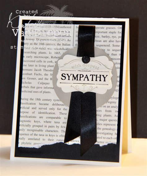 make sympathy card simple sympathy card