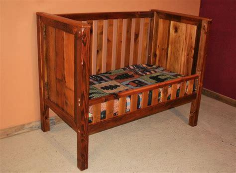 rustic log baby crib barn wood convertible baby crib barn wood furniture