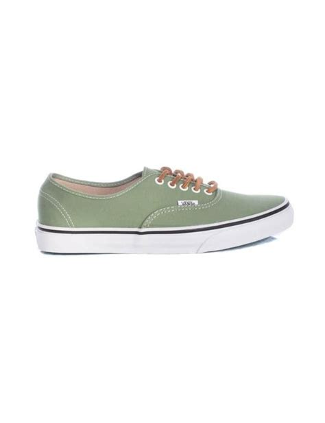 angelus paint on vans vans classics authentic shale green brushed twill