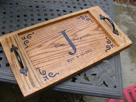 lowes woodworking diy lowe s serving tray