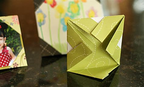 picture frame origami simple origami picture frames make and takes