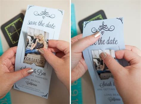 own save the date cards learn how to easily make your own magnet save the dates