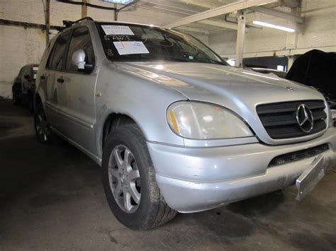 2001 Mercedes Ml430 by Parting Out 2001 Mercedes Ml430 Stock 120310 Tom S