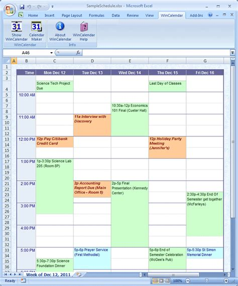 convert google calendar to excel and word format