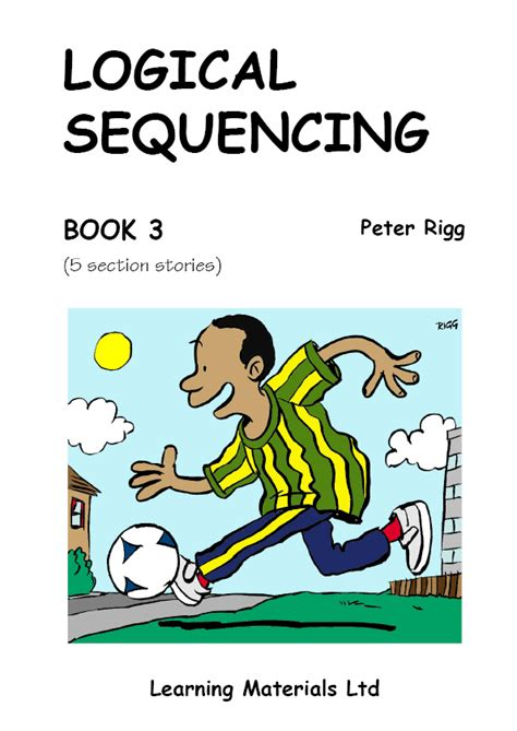 sequencing picture books logical sequencing book 3 learning materials ltd
