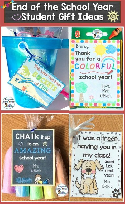 gifts for students from teachers best 25 classmate gifts end of year ideas on