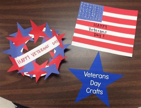 Two Simple Veterans Day Crafts Teaching Crafts