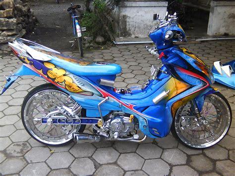 Modifikasi Motor Jupiter Z by 15 Foto Modifikasi Motor Yamaha Jupiter Z