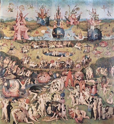 Der Garten Hieronymus Bosch by Gro 223 Bild Hieronymus Bosch Der Garten Der L 252 Ste