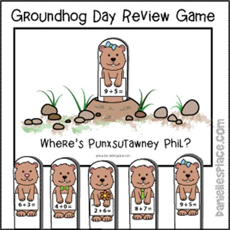 groundhog day review crafts for and the whole family from danielle s