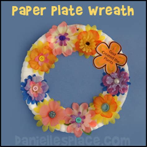paper plate bible crafts creation crafts day 3