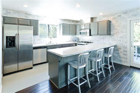 grey modern kitchen design modern grey and white kitchen modern kitchen los