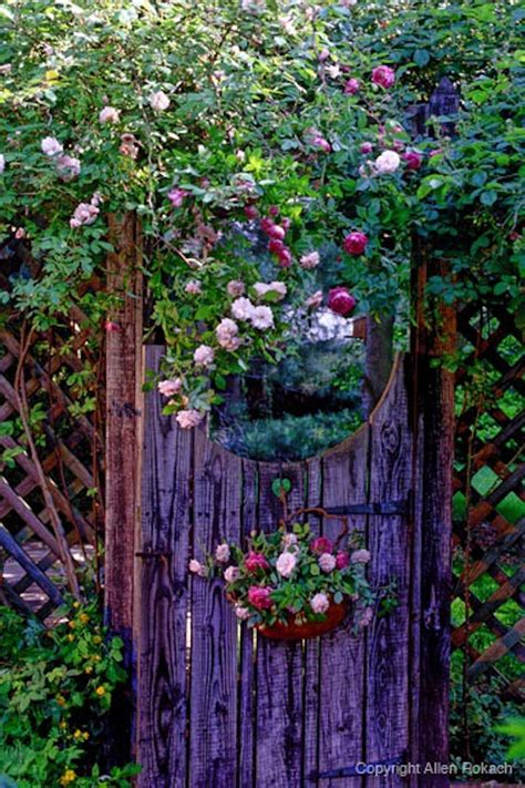garden gate flowers garden gate w flowers green thumbs sometimes
