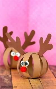 reindeer paper craft paper reindeer craft easy peasy and