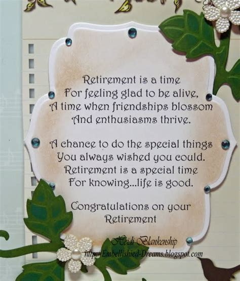 how to make a retirement card retirement card quotes like success