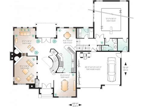 house plans with indoor swimming pool eplans new american house plan indoor pool