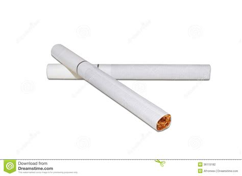 Two Cigarettes Stock Photography   Image: 36115182