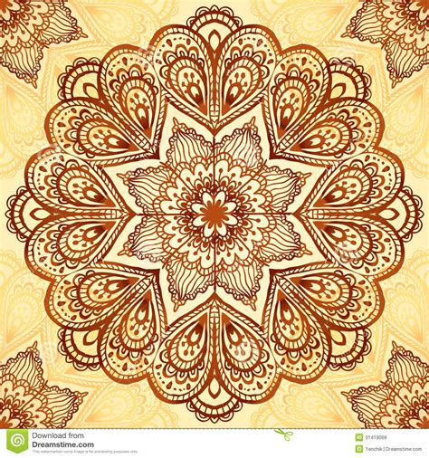 ornate vintage vector napkin background royalty free stock