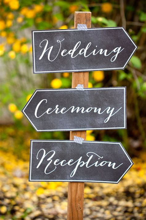 diy chalkboard signs for weddings diy wedding printables evermine weddings