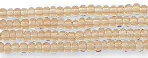 how many seed in a hank seed bead hank topaz size 12 0