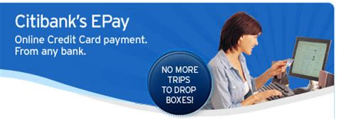 how to make payment for citibank credit card citibank s epay